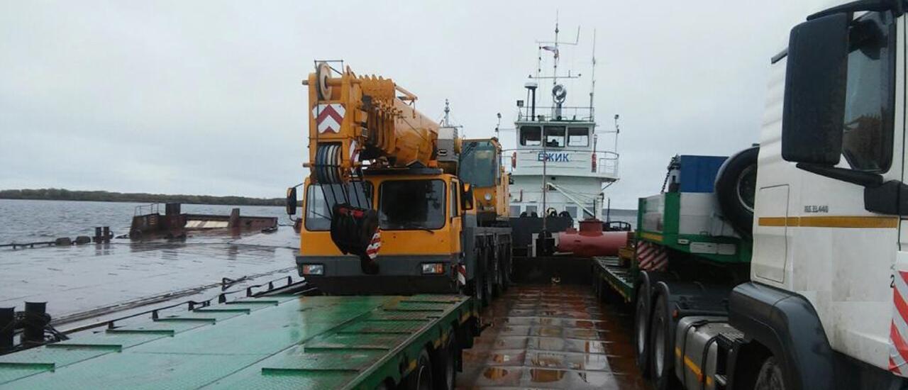 Речная перевозка грузов ЯНАО, ХМАО